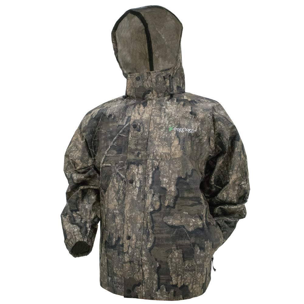 Frogg Toggs Men's Pro Action Waterproof Rain Jacket, Realtree Timber, XXX-Large by Frogg Toggs