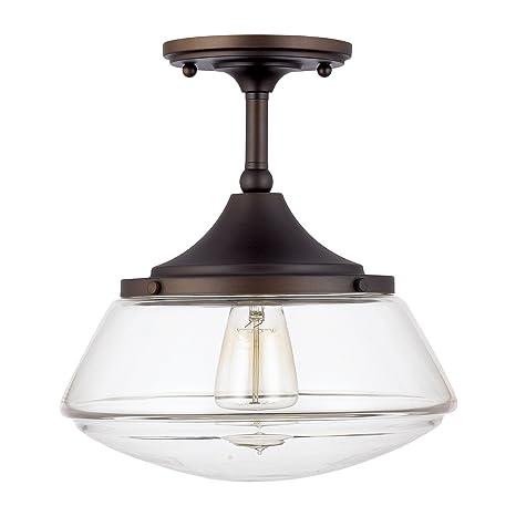 Capital Lighting 3533BB-134 One Light Semi-Flush Fixture