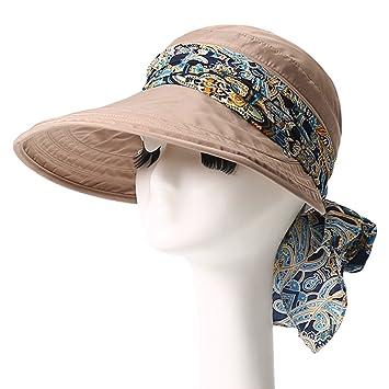 Sombreros de pesca Sombrero de Sol Sombrero de Verano Femenino de Playa  Tapa Cubierta de Tapa 9d4d2a26db4