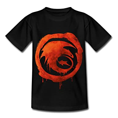 Spreadshirt DreamWorks Dragons Icon Strike Class Watercolour Teenage