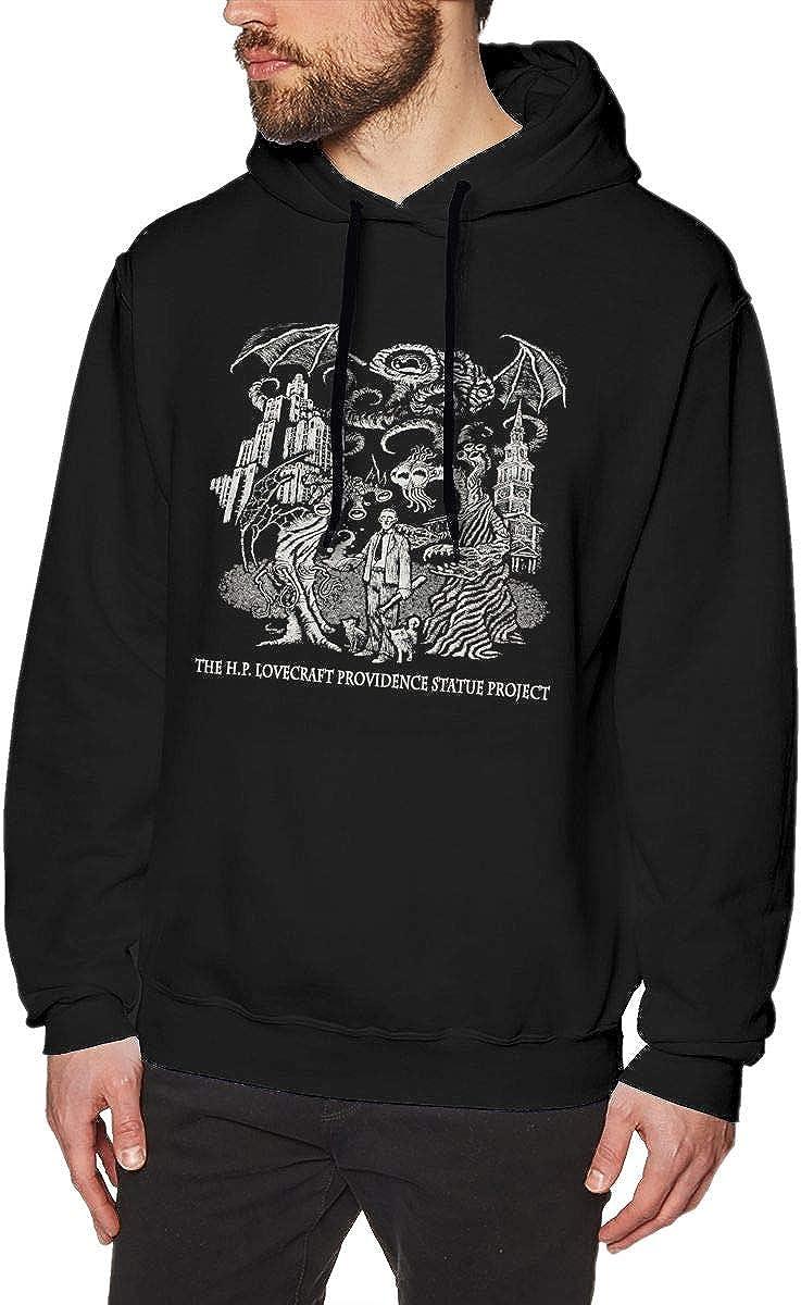 Empty H.P. Lovecraft Men's Cotton Sweater Hoodie Sweatshirt