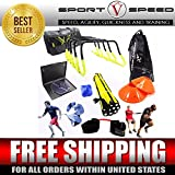 NEW TEAM SPEED AGILITY & QUICKNESS Training Kit with Instructional DVD   High School & College   Football, Soccer, Basketball, Baseball, Supports All Sports   Hurdles, Ladder, Power Resistor, & MORE!