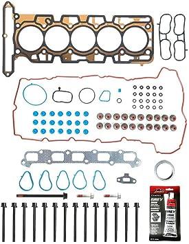 07-12 Chevrolet Colorado GMC Hummer H3 Isuzu I-370 3.7 DOHC Full Gasket Bolt Set