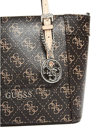 af01c62f39 GUESS Women s Delaney Logo Mini Tote - Import It All