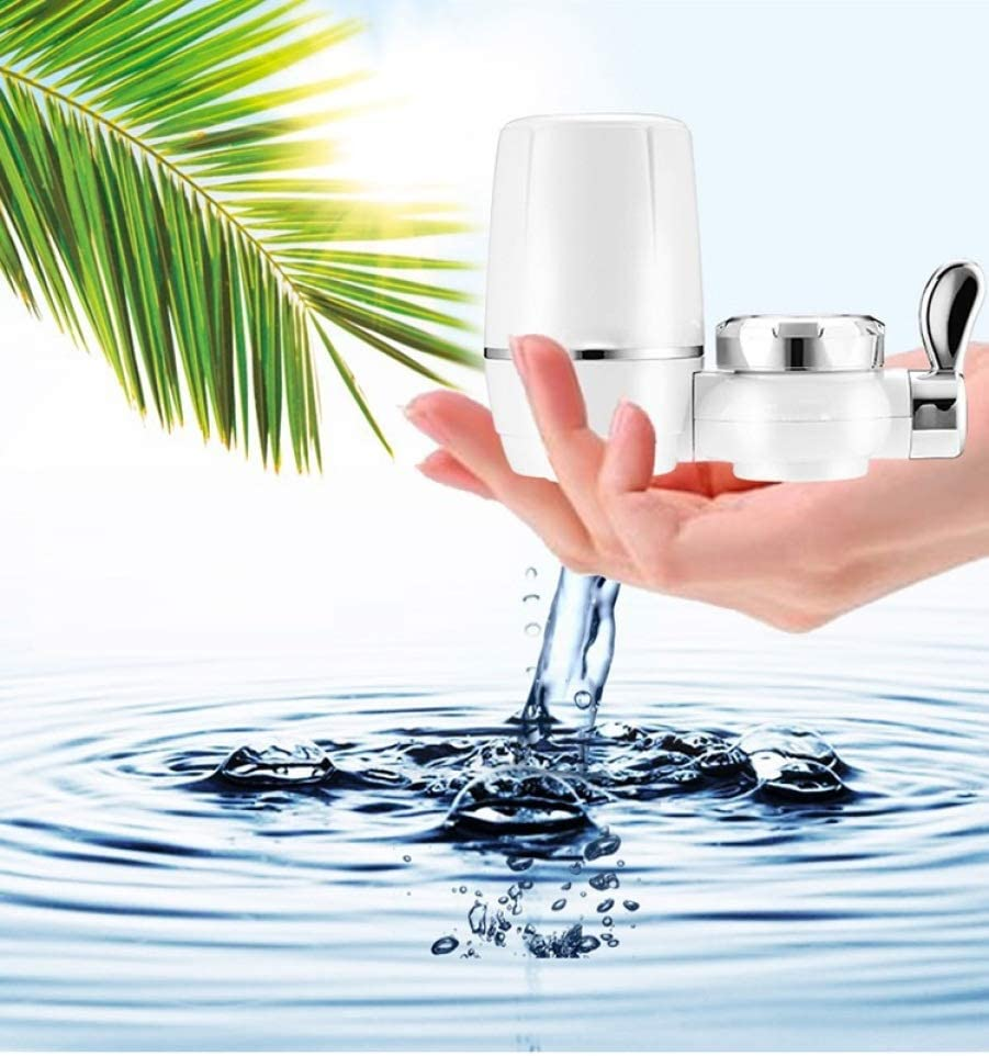 ZYC-WF Purificador de Agua Del Grifo Filtro Del Grifo Del Hogar Agua Del Grifo Purificador de Agua Potable Directo Purificador de Cocina Filtro de Agua OperacióN de un Toque FáCil d: Amazon.es: