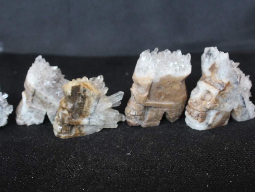 Dalas Quartz Crystal Skull - (Color: 28)