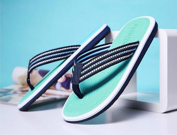 Summer Man Slipper, Sandalen Schuh mit Füßen Anti-Rutsch Strand Schuhe Flip Flops Fuß Hausschuhe Großformat Hotel Gästezimmer Slipper ( Farbe : C , größe : 27cm )