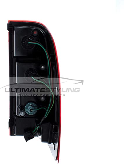 s RH Ultimate Styling Aftermarket Non-LED Rear Tail Light Lamp Without Bulb Holder Bulb Type P21//5W PY21W W16W Side Of Product Drivers Side 92402-1C510 Reference OE//OEM Number s