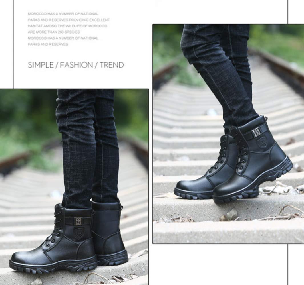 RSHENG Schuhe Für Arbeitsschutzstiefel Für Männer Stahlkappe Schuhe Verbundschutz Verbundschutz Verbundschutz Martin Stiefel Warm Futter 3144a9
