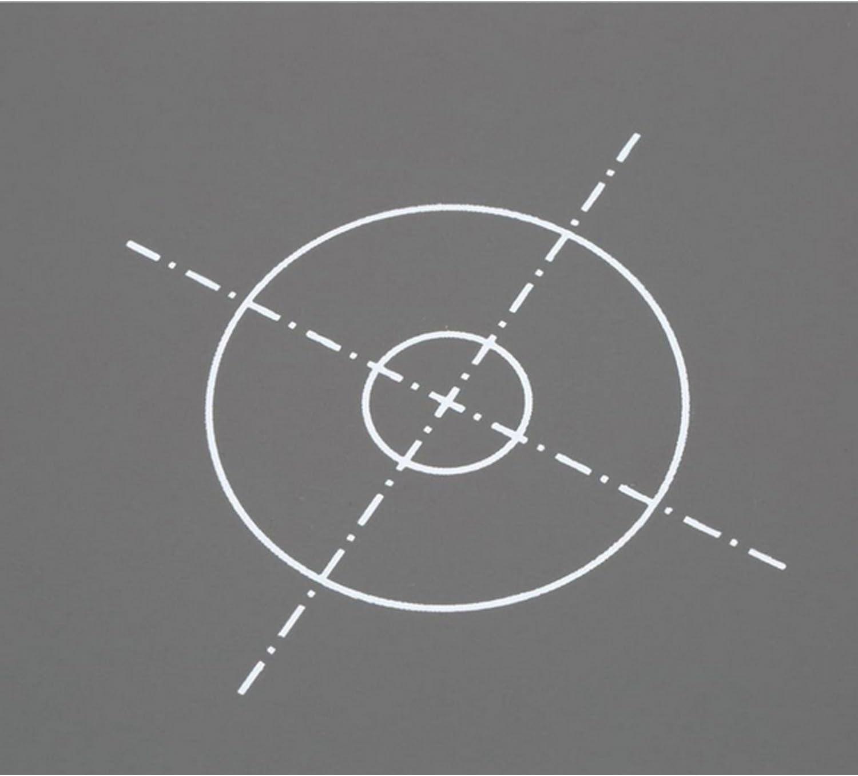 Sopear 30cm faltbare Balance Double Face Card 18/% Grau Fokusplatte Reflektor f/ür Fotoaufnahmen