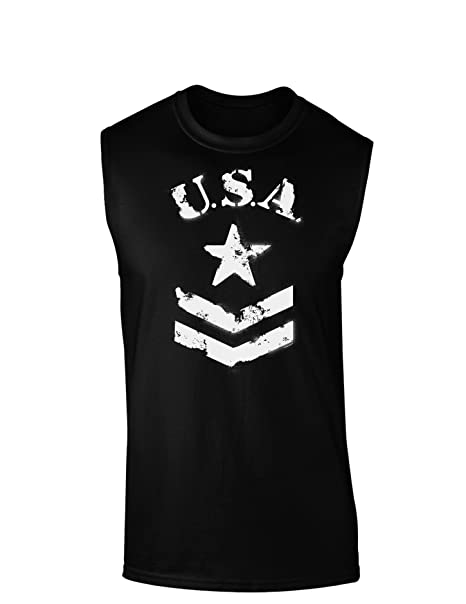 Amazon.com: EE. UU. Militar Star Stencil Logo Dark Muscle ...