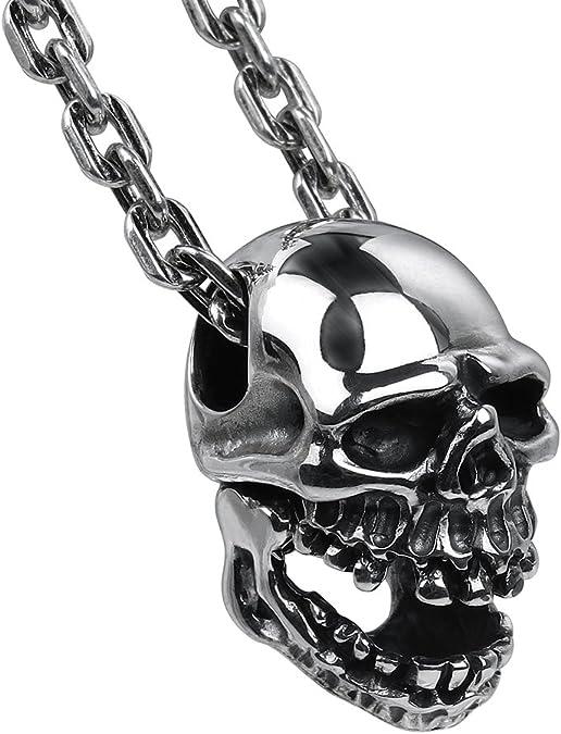 Acheter pendentif tete de mort online 6