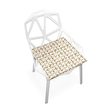 Magnificent Amazon Com Laurabla Non Slip Memory Foam Chair Pad Dabs Of Download Free Architecture Designs Rallybritishbridgeorg