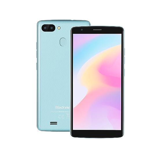 Blackview A20 Pro - 4G Smartphone Libre 5.5 Pulgadas Android 8.1 MT6739 Quad Core 1.3GHz 2GB RAM +16GB ROM,8.0MP + 0.3MP Cámara Trasera 3000mAh Incorporado ...