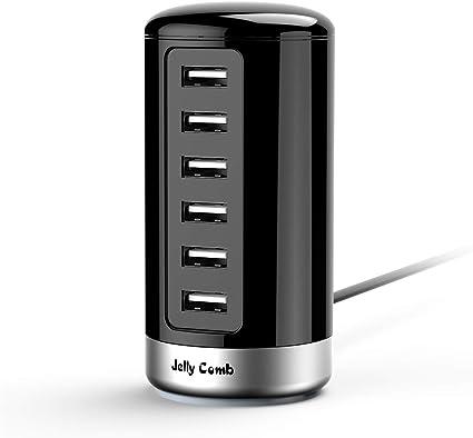 Amazon.com: Cargador USB de Jelly Comb universal con 6 ...