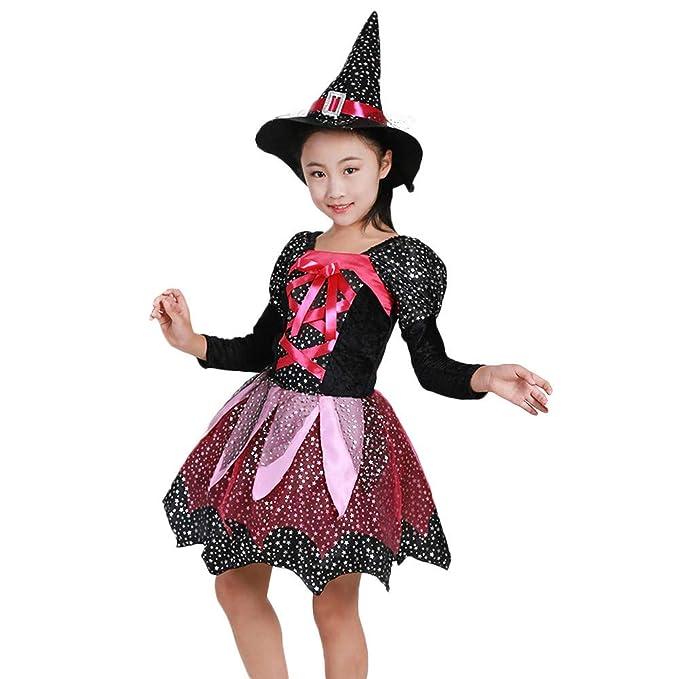 MAYOGO Disfraz Halloween Bebe Niña Cosplay Vestido y ...
