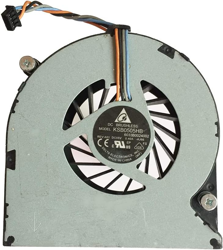 PYDDIN New Laptop CPU Cooling Fan Cooler for HP 4530S 4535S 4730S 6460B 8460W 8470W 8450P 8460P 8470P, 641839-001 646285-001