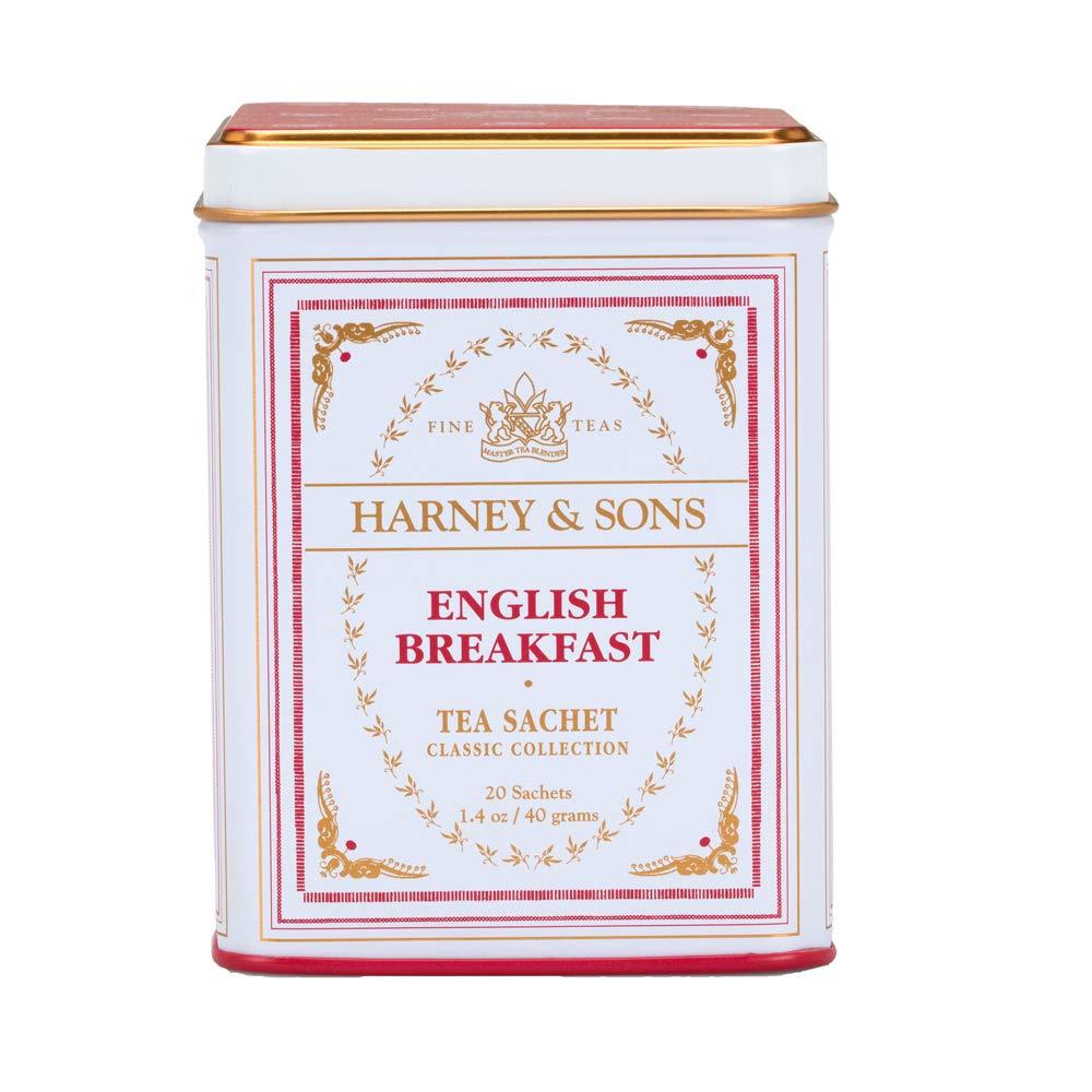 Harney & Sons Black Tea, English Breakfast, 20 Sachets