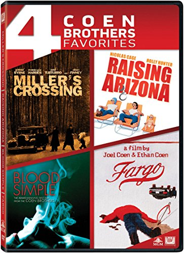 Miller's Crossing, Raising Arizona, Blood Simple, Fargo [Coen Brothers Favorites]