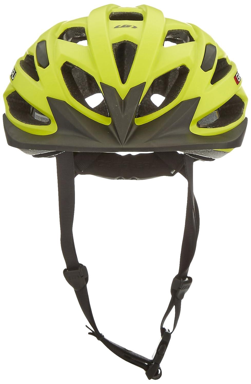 Amazon.com : Louis Garneau - HG Eagle Cycling Helmet, Yellow : Sports & Outdoors