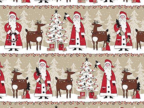 Woodland Santa 24''x417' (kraft) by Nas