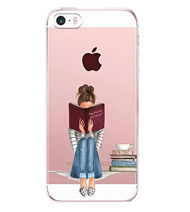 Amazon.com: iPhone se funda, funda iPhone 5S, Matop Niñas ...