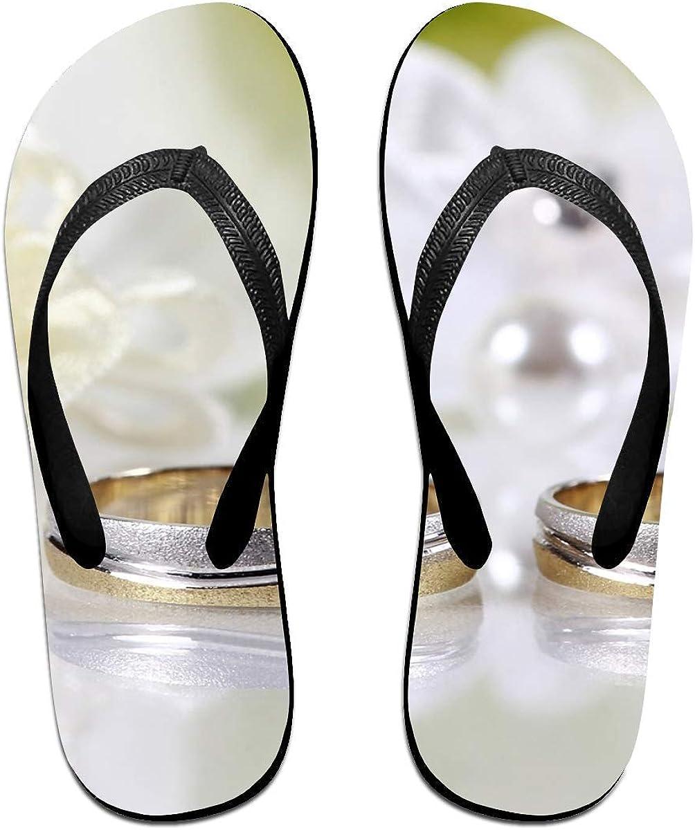 Chanclas para Parejas con diseño de Pulsera de Plata Unisex Chic, Sandalias de Goma Antideslizantes para Playa, Color Negro, Talla Small: Amazon.es: Zapatos y complementos