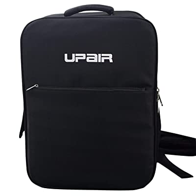UPair Two Travel QuadcopterBackpack, 18 Inch Durable Carrying Cases with Detachable PU Panel, Water Resistant Drone Bag Two, Black: Sports & Outdoors
