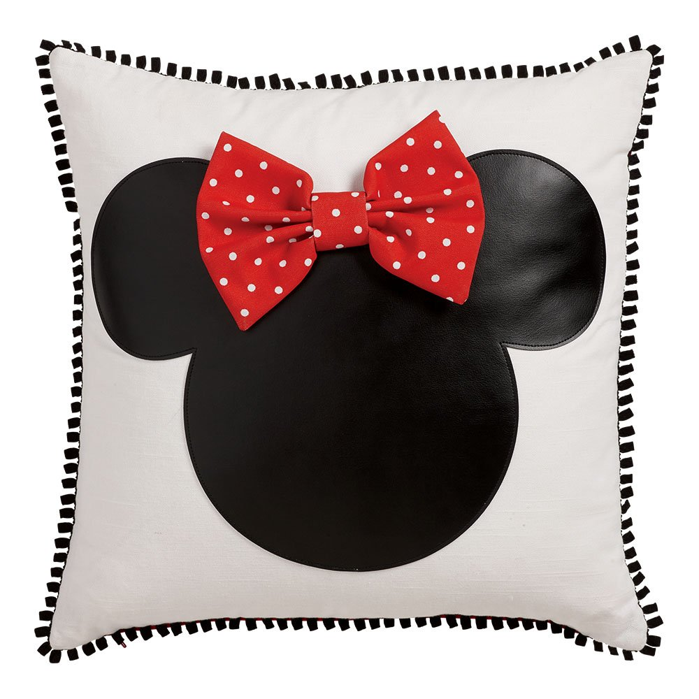 Ethan Allen | Disney Minnie Mouse Icon Pillow (Red)