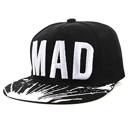 0b0c4abce1e Simayixx Fashion Kid Boys Girls Letters Baseball Cap Baby Adjustable  Snapback Cap Flat Hip Hop Sun