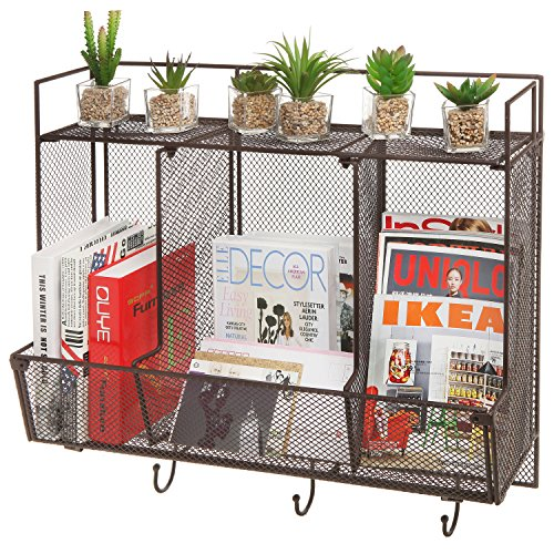 Country Mounted Compartment Organizer Storage