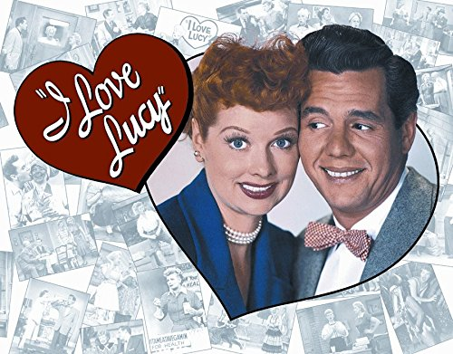 I Love Lucy Classic Old Fashioned Vintage Advertising Metal Tin Sign 8x10