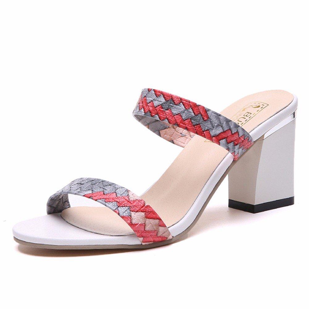 Yuch Frauen Strandschuhe Sandalen Kleidung Starke Ferse Damen dCxBoreW