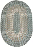Plymouth 20″ x 30″ Braided Rug in Blue