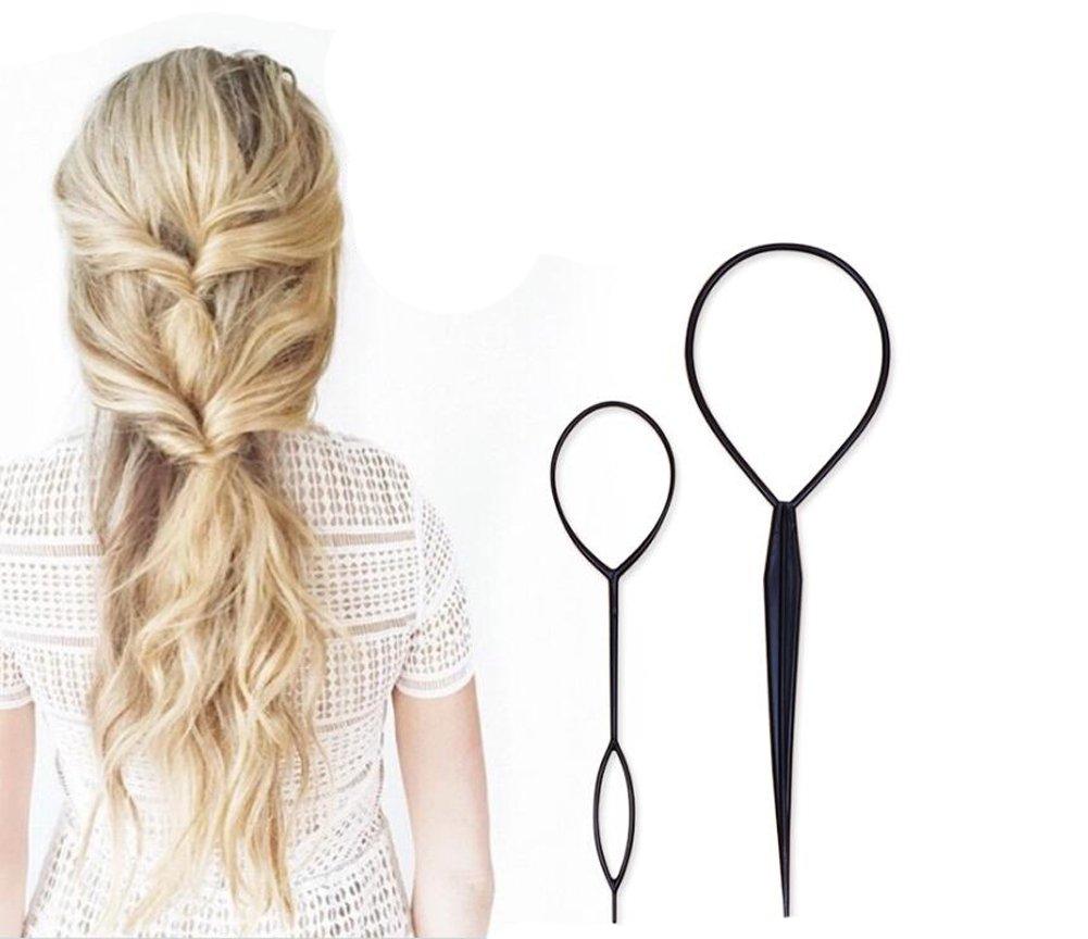 1set 20 diferentes estilos diseño de pelo profesional styling tools-hair volumen Bump It Up para el pelo hair Pin pelo Clip Moño en el pelo trenzado en ...