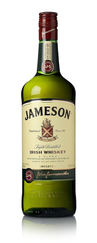 Jameson Irish Whiskey – Blended Irish Whiskey aus feinen, dreifach ...