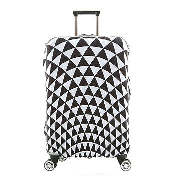 Funda Protectora de Maleta Spandex elástico protector viaje equipaje cubierta Carretilla caso protectora cubierta Pop Prism (L 26-28 pulgadas): Amazon.es: ...