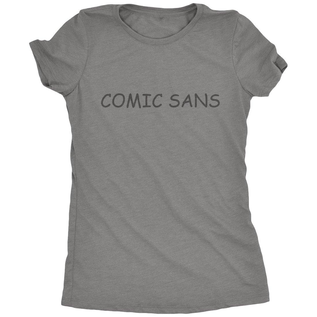 Comic Sans Font T Shirt 7874
