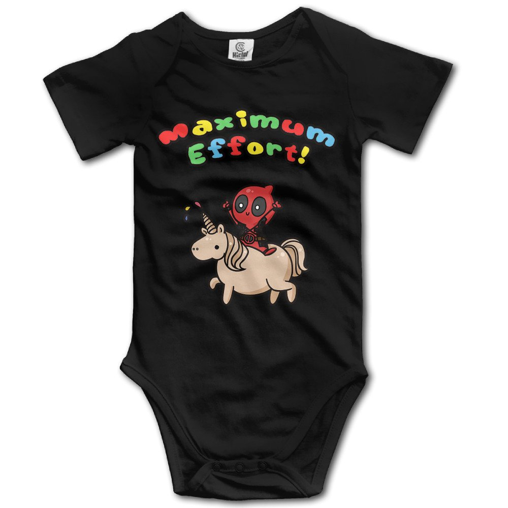 OULIKE Maximum Effort Comic Baby Climbing Clothes Bodysuit