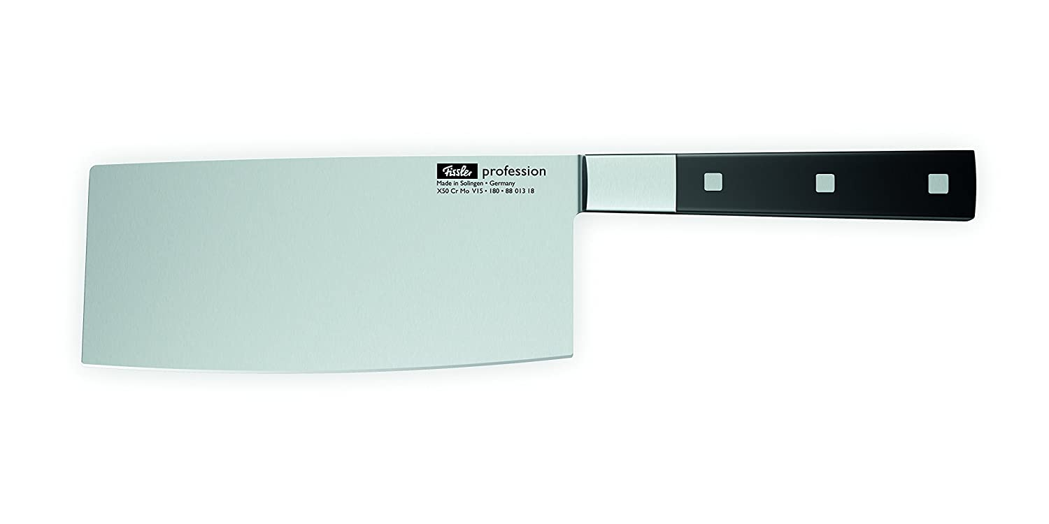 amazon com fissler profession chinese chef s knife 7 1 inches amazon com fissler profession chinese chef s knife 7 1 inches chefs knives kitchen dining