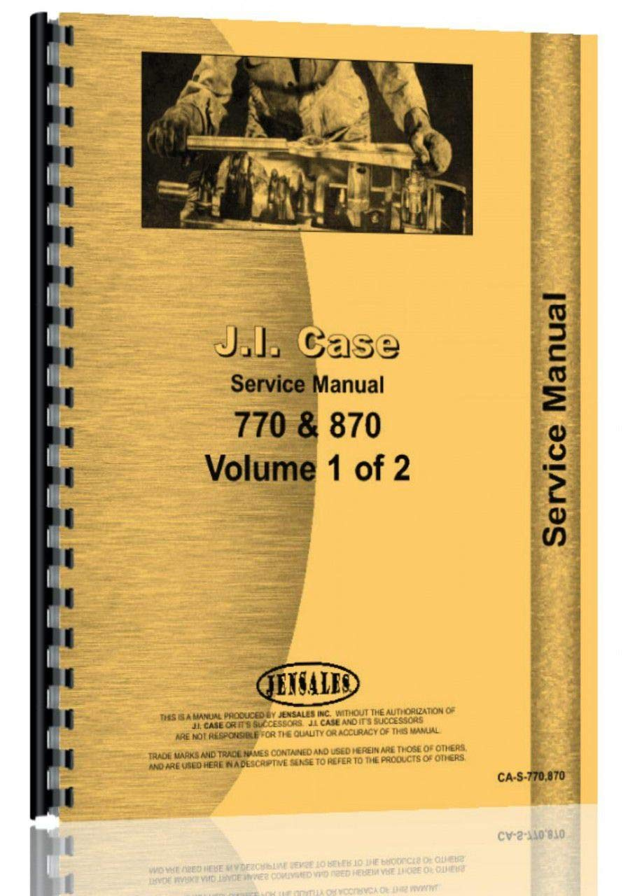 Case 870 Tractor Service Manual pdf