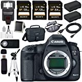 Canon EOD 5D III Digital Camera + LPE-6 Lithium Ion Battery + Canon 100ES EOS shoulder bag Bundle 4