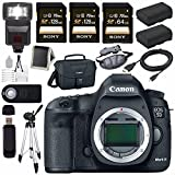 Canon EOD 5D III Digital Camera + LPE-6 Lithium Ion Battery + Canon 100ES EOS shoulder bag Bundle 4 For Sale