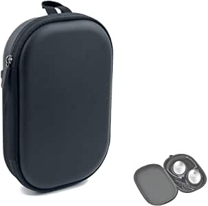 Headphone Case for Bose QC35,Replacement Protective Carrying Case Hard Zipper Travel Bag for Bose QuietComfort 35 (Series II) Quiet Comfort 35 25 QC35 QC25 Wireless Bluetooth Noise Canceling Headphones (Black)