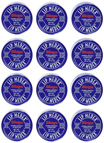 Blistex Lip Medex.25-Ounce (Pack of 12)