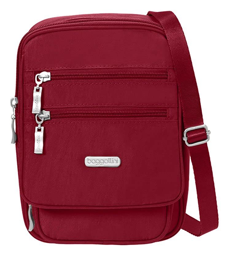 Baggallini Journey Crossbody Travel Bag Charcoal One Size JOU878B0021