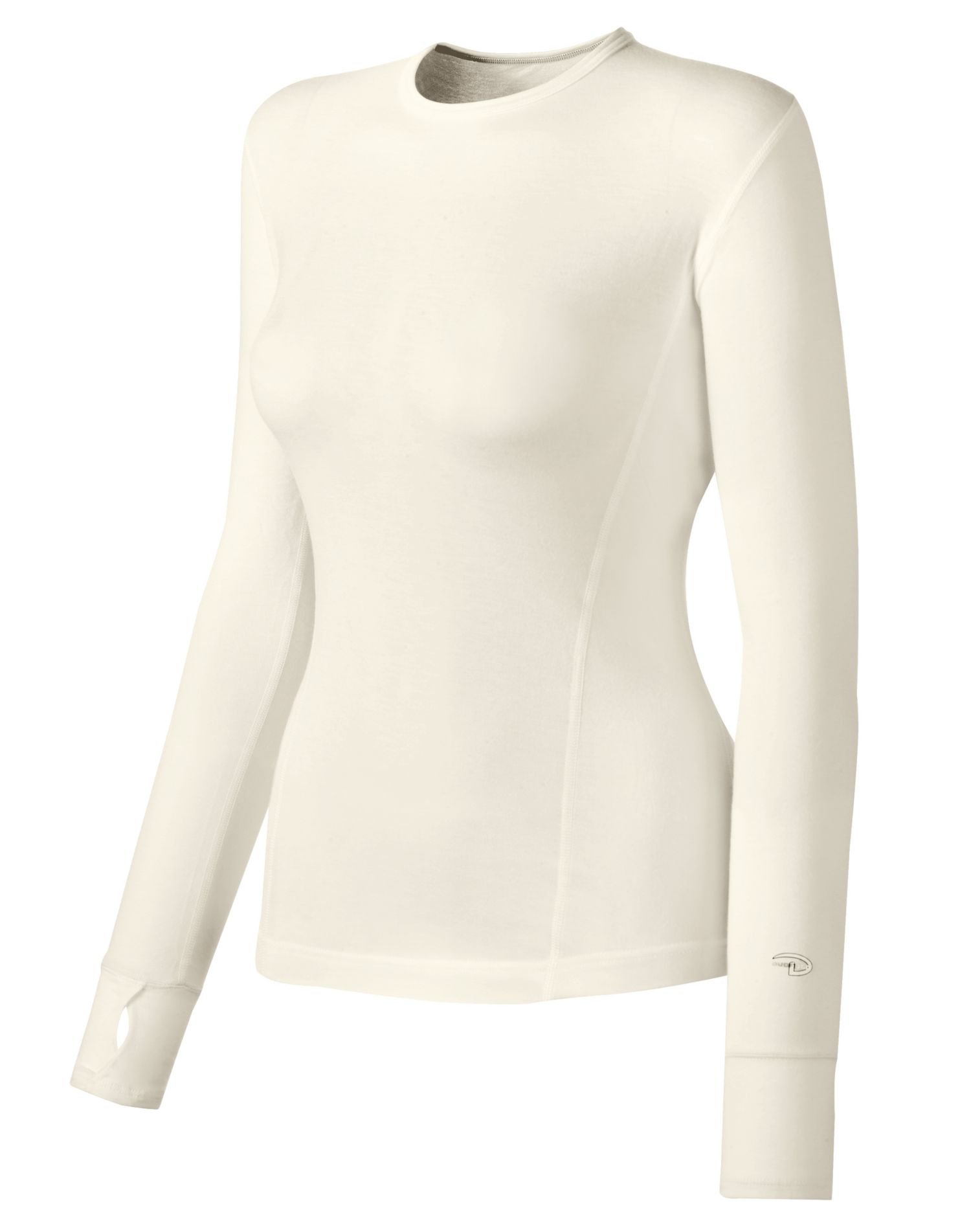 Duofold Women's Mid Weight Varitherm Thermal Shirt, Pearl, Small