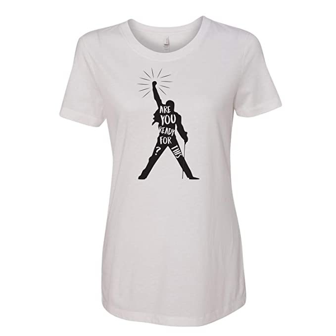 Are You Ready Freddie Mercury T-shirt Herrenmode Musik Queen