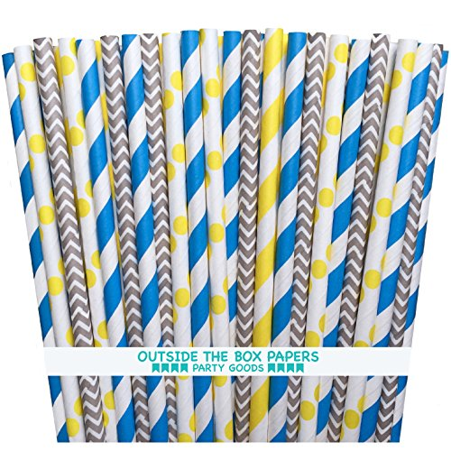 Outside the Box Papers Minion Themed Paper Straws