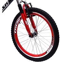 Bicicleta Garra Flash Aro 20 Preto F. Suspensão Prata